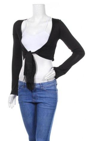 Дамска блуза Ana Alcazar, Размер S, Цвят Черен, 94% вискоза, 6% еластан, Цена 11,16лв.