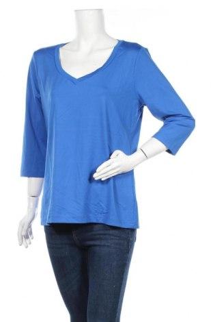 Дамска блуза B.C. Best Connections, Размер XL, Цвят Син, 90% полиамид, 10% еластан, Цена 6,75лв.