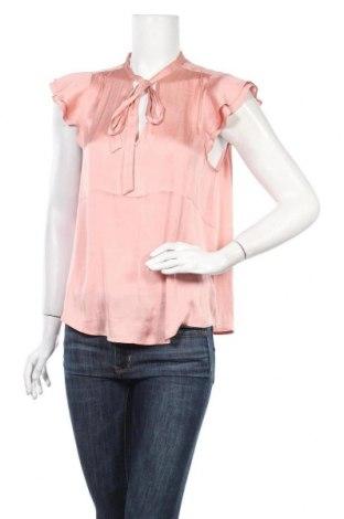 Дамска блуза Banana Republic, Размер M, Цвят Розов, Полиестер, Цена 59,25лв.