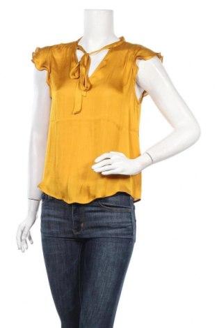 Дамска блуза Banana Republic, Размер S, Цвят Жълт, Полиестер, Цена 51,75лв.