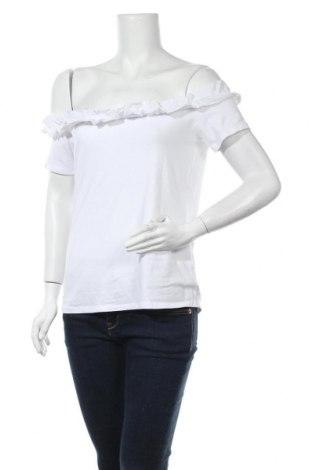 Дамска блуза Blue Seven, Размер M, Цвят Бял, 95% памук, 5% еластан, Цена 11,76лв.