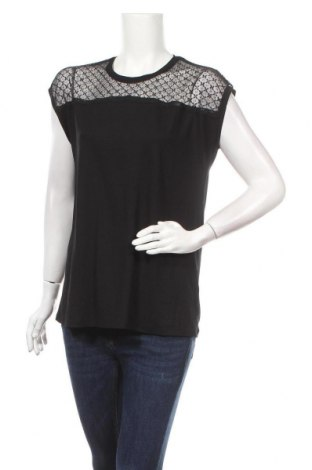 Дамска блуза Bon'a Parte, Размер M, Цвят Черен, 95% вискоза, 5% еластан, Цена 4,20лв.