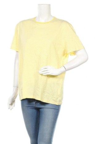 Дамска блуза COS, Размер XL, Цвят Бял, Памук, Цена 22,05лв.