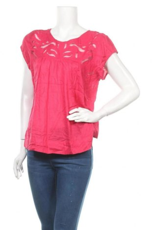 Дамска блуза Caroll, Размер XL, Цвят Розов, Модал, вискоза, Цена 28,35лв.
