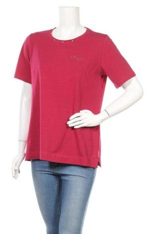 Γυναικεία μπλούζα Champion, Μέγεθος L, Χρώμα Ρόζ , 92% βαμβάκι, 8% ελαστάνη, Τιμή 14,67€