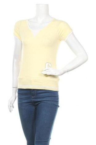 Γυναικεία μπλούζα Champion, Μέγεθος S, Χρώμα Κίτρινο, 95% βαμβάκι, 5% ελαστάνη, Τιμή 18,44€