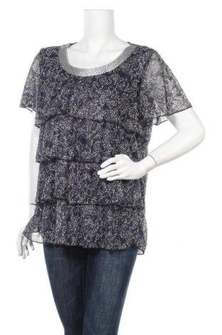 Γυναικεία μπλούζα Christopher & Banks, Μέγεθος XL, Χρώμα Μπλέ, 92% πολυεστέρας, 8% ελαστάνη, Τιμή 5,52€
