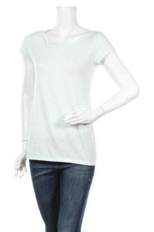 Дамска блуза Clockhouse, Размер XL, Цвят Зелен, 88% полиестер, 7% лен, 5% еластан, Цена 4,46лв.