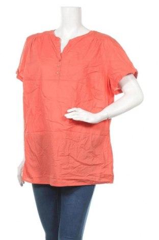 Дамска блуза Collection L, Размер XXL, Цвят Оранжев, Памук, Цена 13,44лв.