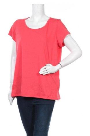 Дамска блуза Collection L, Размер XL, Цвят Червен, 65% полиестер, 35% памук, Цена 11,76лв.