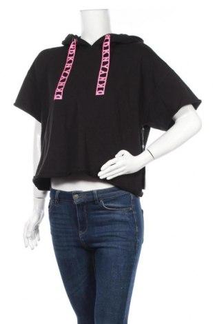 Дамска блуза DKNY, Размер S, Цвят Черен, 95% памук, 5% еластан, Цена 74,25лв.