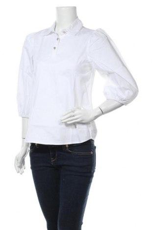 Γυναικεία μπλούζα Defacto, Μέγεθος S, Χρώμα Λευκό, 97% βαμβάκι, 3% ελαστάνη, Τιμή 5,26€