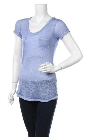 Дамска блуза Derek Heart, Размер M, Цвят Син, 53% памук, 47% полиестер, Цена 4,46лв.