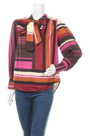 Γυναικεία μπλούζα Derhy, Μέγεθος S, Χρώμα Πολύχρωμο, 95% πολυεστέρας, 5% ελαστάνη, Τιμή 6,06€