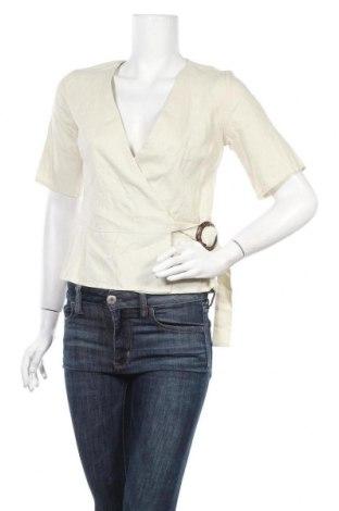 Дамска блуза Dorothy Perkins, Размер S, Цвят Бежов, 53% лен, 43% вискоза, 2% лиосел, Цена 11,76лв.