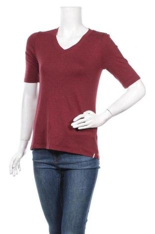 Дамска блуза Esprit, Размер XS, Цвят Червен, 49% вискоза, 48% памук, 2% еластан, Цена 5,14лв.