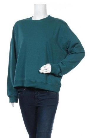 Дамска блуза Even&Odd, Размер M, Цвят Зелен, 60% памук, 40% полиестер, Цена 20,88лв.