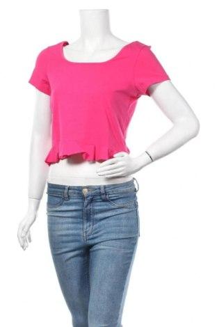 Дамска блуза Even&Odd, Размер XL, Цвят Розов, 95% памук, 5% еластан, Цена 4,55лв.