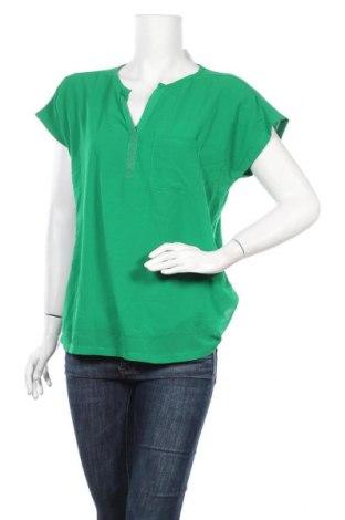 Дамска блуза Fransa, Размер L, Цвят Зелен, Цена 13,97лв.