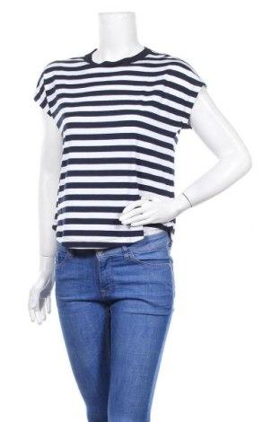 Дамска блуза Gap, Размер S, Цвят Син, 58% памук, 38% вискоза, 4% еластан, Цена 36,75лв.