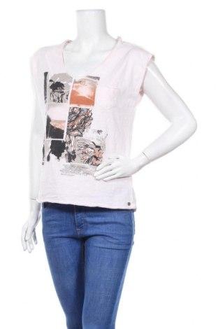 Дамска блуза Garcia Jeans, Размер M, Цвят Розов, Памук, Цена 13,97лв.