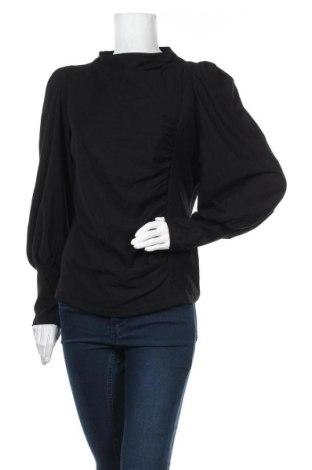 Дамска блуза Gestuz, Размер XL, Цвят Черен, 94% вискоза, 6% еластан, Цена 53,36лв.