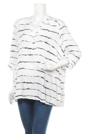 Γυναικεία μπλούζα Gina Laura, Μέγεθος XXL, Χρώμα Λευκό, Τιμή 11,04€