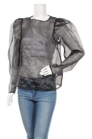 Γυναικεία μπλούζα Gina Tricot, Μέγεθος L, Χρώμα Μαύρο, 100% πολυεστέρας, Τιμή 8,66€