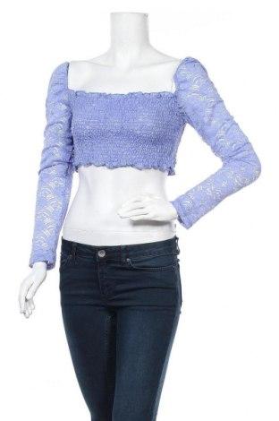 Bluză de femei Glamorous, Mărime M, Culoare Albastru, 90% poliester, 10% elastan, Preț 7,35 Lei