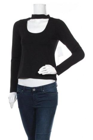 Γυναικεία μπλούζα Good American, Μέγεθος L, Χρώμα Μαύρο, 93% βισκόζη, 7% ελαστάνη, Τιμή 10,18€