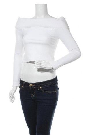 Γυναικεία μπλούζα Good American, Μέγεθος M, Χρώμα Λευκό, 95% πολυαμίδη, 5% ελαστάνη, Τιμή 10,05€