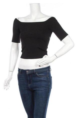 Γυναικεία μπλούζα Good American, Μέγεθος S, Χρώμα Μαύρο, 90% πολυαμίδη, 10% ελαστάνη, Τιμή 10,23€