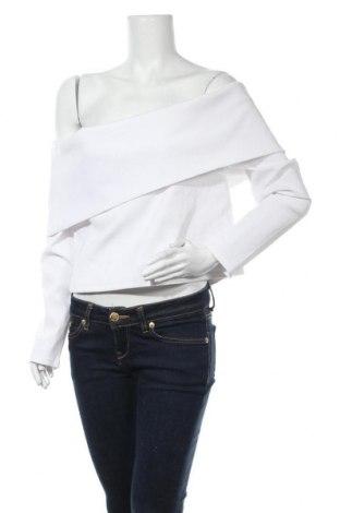 Дамска блуза Good American, Размер XL, Цвят Бял, 95% полиамид, 5% еластан, Цена 57,75лв.