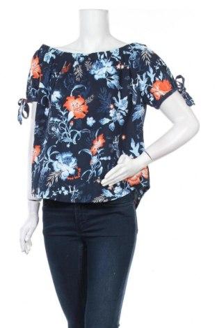 Дамска блуза H&M L.O.G.G., Размер M, Цвят Син, Памук, Цена 15,96лв.