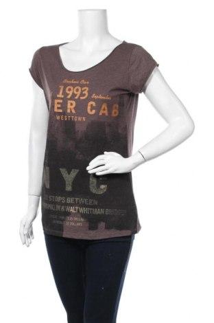 Дамска блуза H&M L.O.G.G., Размер L, Цвят Кафяв, 60% памук, 40% полиестер, Цена 14,28лв.