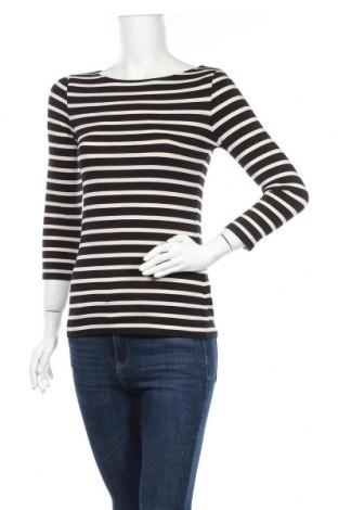 Γυναικεία μπλούζα Hallhuber, Μέγεθος XS, Χρώμα Μαύρο, 47% βαμβάκι, 47% μοντάλ, 6% ελαστάνη, Τιμή 14,72€
