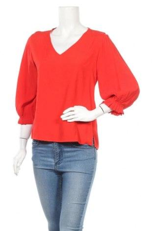 Γυναικεία μπλούζα Hallhuber, Μέγεθος S, Χρώμα Κόκκινο, Βισκόζη, Τιμή 20,78€