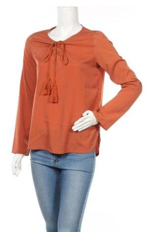 Дамска блуза Heine, Размер S, Цвят Оранжев, Полиестер, Цена 21,85лв.