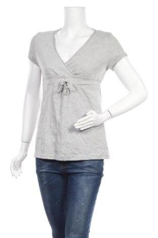 Дамска блуза Heine, Размер M, Цвят Сив, 67% памук, 33% полиестер, Цена 18,90лв.