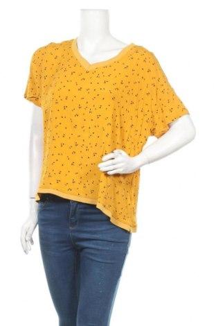 Дамска блуза Hema, Размер XL, Цвят Жълт, Вискоза, Цена 18,95лв.