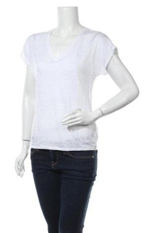 Дамска блуза In Wear, Размер S, Цвят Бял, Лен, Цена 36,75лв.