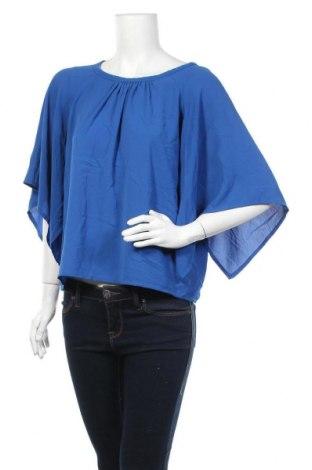 Γυναικεία μπλούζα Inside, Μέγεθος S, Χρώμα Μπλέ, 95% πολυεστέρας, 5% ελαστάνη, Τιμή 5,23€
