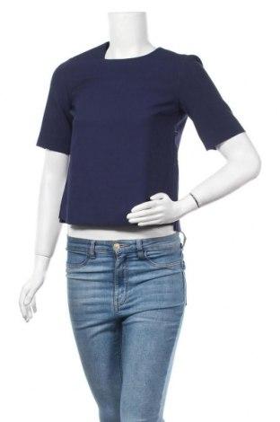 Дамска блуза Ivy & Oak, Размер S, Цвят Син, 53% полиестер, 31% вискоза, 6% еластан, Цена 59,25лв.