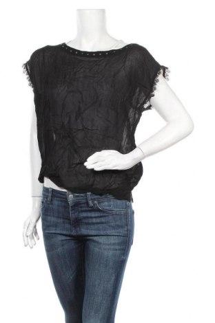 Дамска блуза Jones, Размер M, Цвят Черен, Вискоза, Цена 23,52лв.