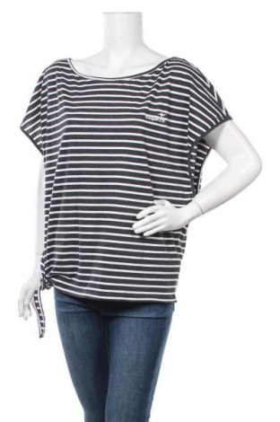 Дамска блуза Kangaroos, Размер L, Цвят Черен, 60% памук, 40% полиестер, Цена 30,66лв.
