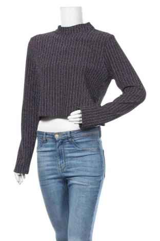 Дамска блуза Kiomi, Размер XL, Цвят Многоцветен, 80% полиестер, 15% метални нишки, 5% еластан, Цена 22,00лв.