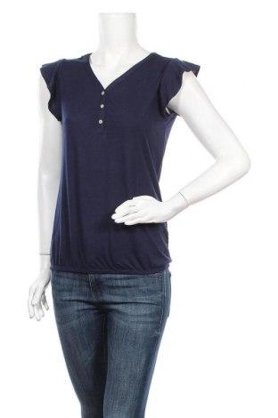 Дамска блуза Lascana, Размер XS, Цвят Син, 65% полиестер, 35% вискоза, Цена 11,50лв.