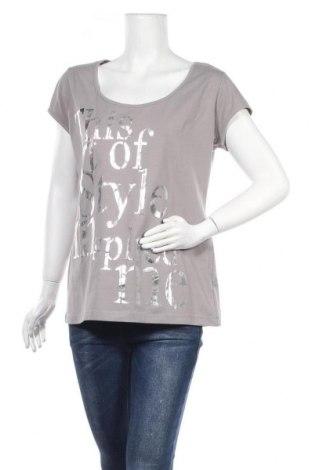 Γυναικεία μπλούζα Laura Scott, Μέγεθος XL, Χρώμα Γκρί, 95% βαμβάκι, 5% ελαστάνη, Τιμή 15,88€