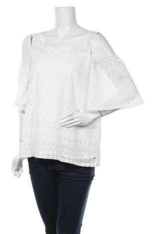 Дамска блуза M By Mosquitos, Размер L, Цвят Бял, 95% полиестер, 5% еластан, Цена 17,64лв.