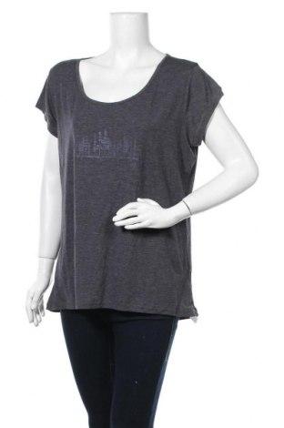 Γυναικεία μπλούζα McKinley, Μέγεθος XL, Χρώμα Γκρί, 62% πολυεστέρας, 33% βισκόζη, 5% ελαστάνη, Τιμή 7,27€